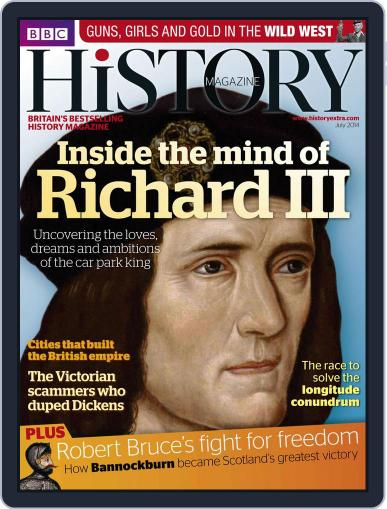 Bbc History (Digital) June 18th, 2014 Issue Cover