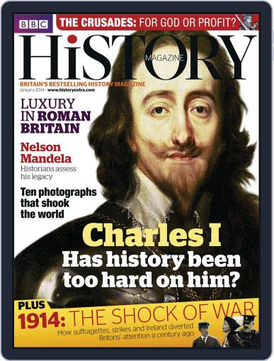 Bbc History (Digital) January 2nd, 2014 Issue Cover