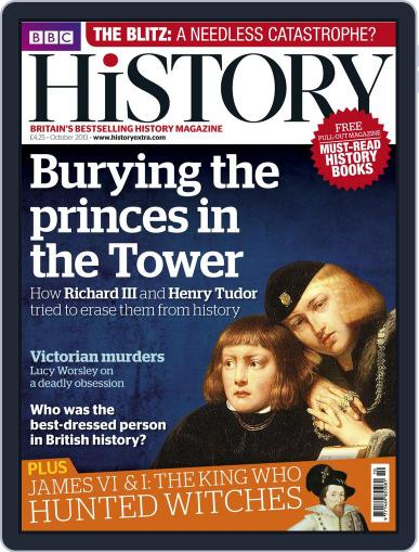 Bbc History (Digital) September 19th, 2013 Issue Cover