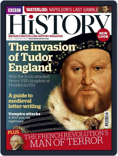 Bbc History August 14th, 2013 Digital Back Issue Cover