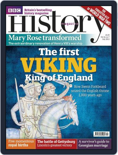 Bbc History (Digital) June 19th, 2013 Issue Cover