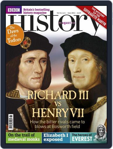 Bbc History May 22nd, 2013 Digital Back Issue Cover