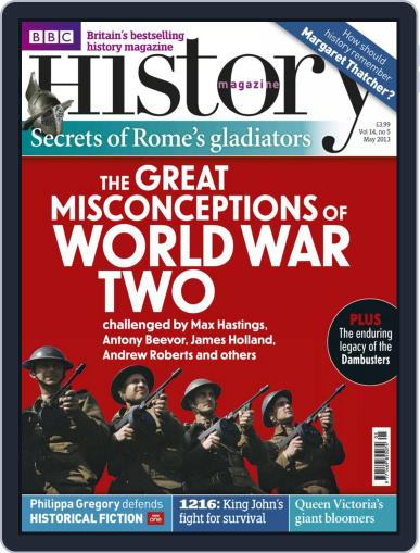 Bbc History April 24th, 2013 Digital Back Issue Cover