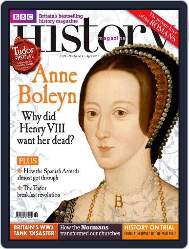 Bbc History (Digital) March 27th, 2013 Issue Cover