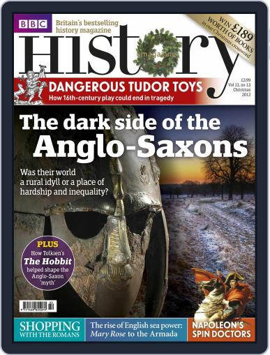 Bbc History December 3rd, 2012 Digital Back Issue Cover