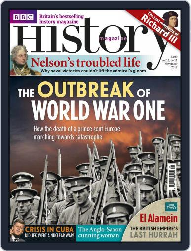 Bbc History (Digital) October 8th, 2012 Issue Cover