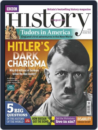 Bbc History September 10th, 2012 Digital Back Issue Cover