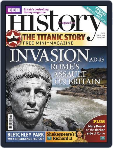 Bbc History (Digital) March 26th, 2012 Issue Cover