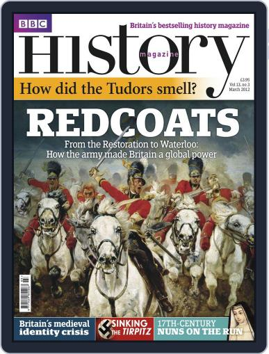 Bbc History (Digital) February 27th, 2012 Issue Cover