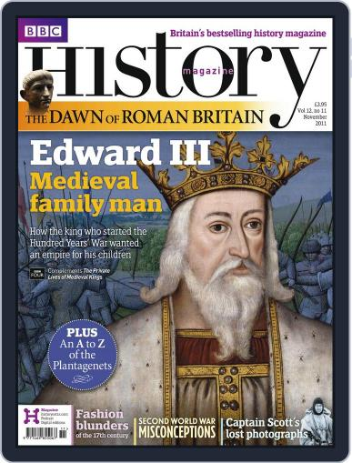 Bbc History (Digital) October 10th, 2011 Issue Cover