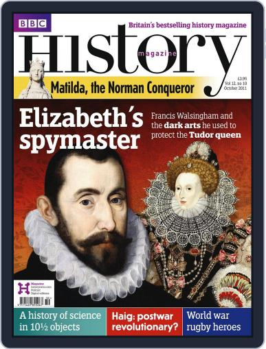 Bbc History September 12th, 2011 Digital Back Issue Cover