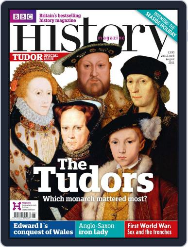 Bbc History (Digital) July 18th, 2011 Issue Cover