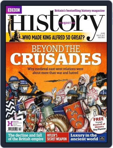 Bbc History (Digital) June 20th, 2011 Issue Cover