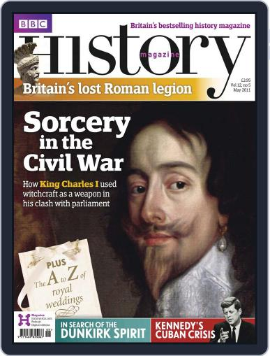 Bbc History April 25th, 2011 Digital Back Issue Cover