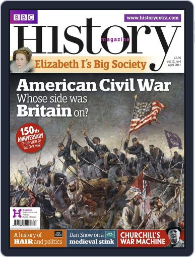 Bbc History March 30th, 2011 Digital Back Issue Cover