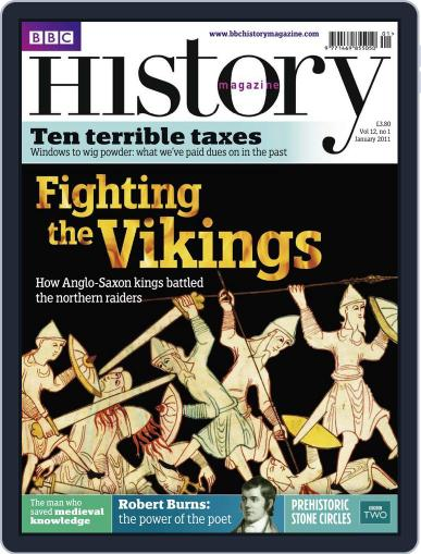 Bbc History January 4th, 2011 Digital Back Issue Cover
