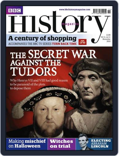 Bbc History (Digital) October 22nd, 2010 Issue Cover