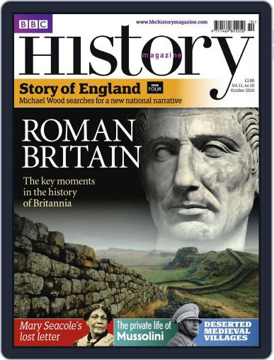 Bbc History (Digital) October 4th, 2010 Issue Cover