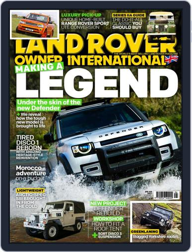 Land Rover Owner April 1st, 2020 Digital Back Issue Cover