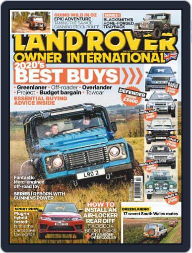 Land Rover Owner March 1st, 2020 Digital Back Issue Cover