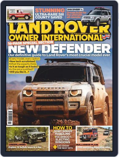 Land Rover Owner November 1st, 2019 Digital Back Issue Cover