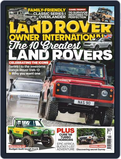 Land Rover Owner (Digital) October 1st, 2019 Issue Cover