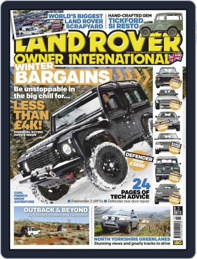 Land Rover Owner (Digital) March 1st, 2019 Issue Cover