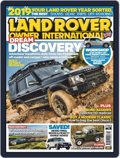 Land Rover Owner (Digital) February 1st, 2019 Issue Cover