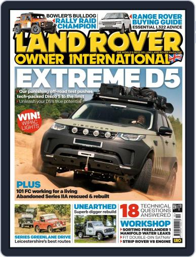 Land Rover Owner (Digital) October 1st, 2018 Issue Cover