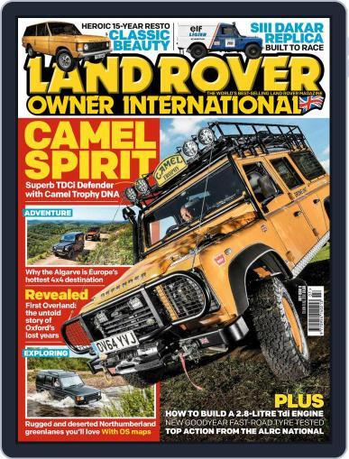 Land Rover Owner July 1st, 2018 Digital Back Issue Cover