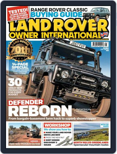 Land Rover Owner (Digital) May 1st, 2018 Issue Cover