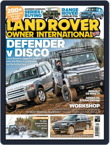 Land Rover Owner (Digital) April 2nd, 2018 Issue Cover