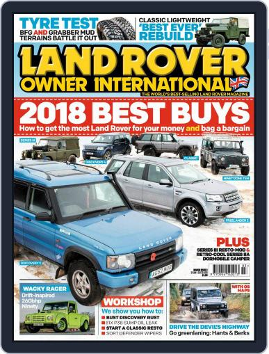 Land Rover Owner (Digital) March 1st, 2018 Issue Cover