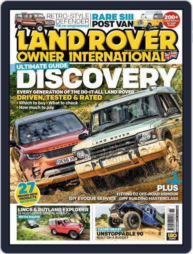 Land Rover Owner November 1st, 2017 Digital Back Issue Cover