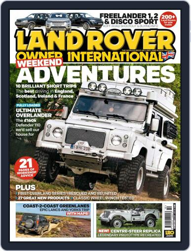Land Rover Owner (Digital) October 1st, 2017 Issue Cover