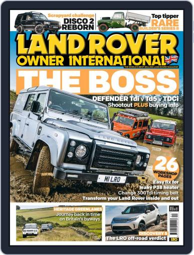 Land Rover Owner April 15th, 2017 Digital Back Issue Cover