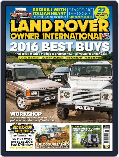 Land Rover Owner (Digital) October 1st, 2016 Issue Cover