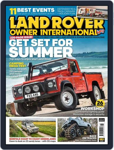 Land Rover Owner (Digital) May 18th, 2016 Issue Cover