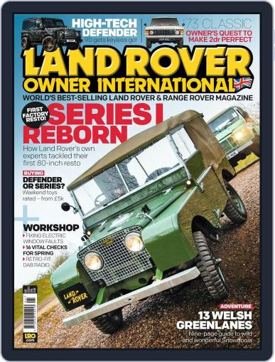 Land Rover Owner (Digital) April 20th, 2016 Issue Cover