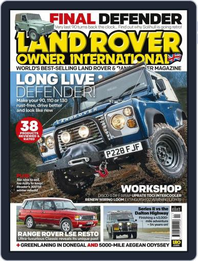 Land Rover Owner (Digital) February 24th, 2016 Issue Cover