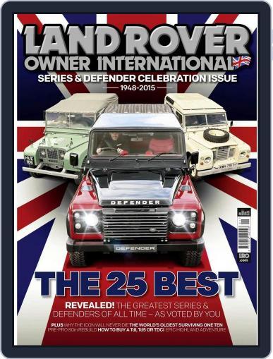 Land Rover Owner November 30th, 2015 Digital Back Issue Cover