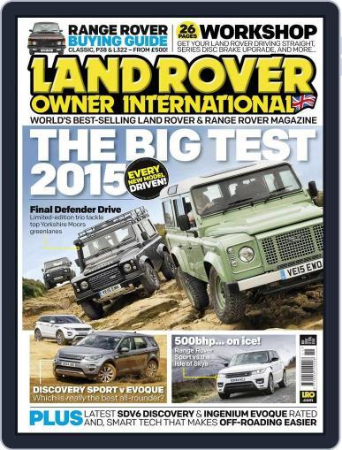 Land Rover Owner October 31st, 2015 Digital Back Issue Cover