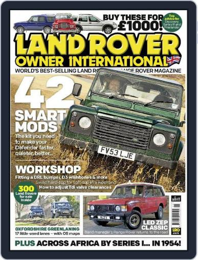 Land Rover Owner July 14th, 2015 Digital Back Issue Cover