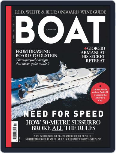 Boat International (Digital) July 1st, 2020 Issue Cover