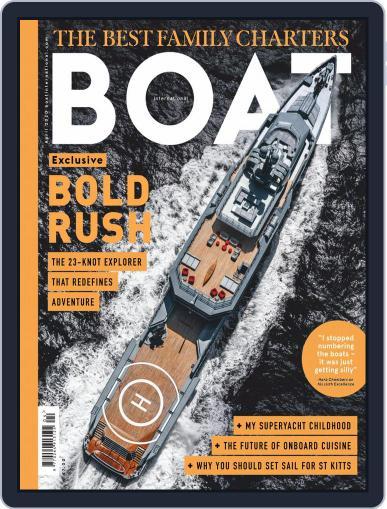 Boat International (Digital) April 1st, 2020 Issue Cover