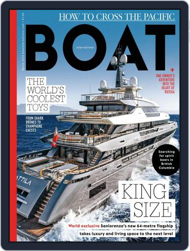 Boat International March 1st, 2020 Digital Back Issue Cover