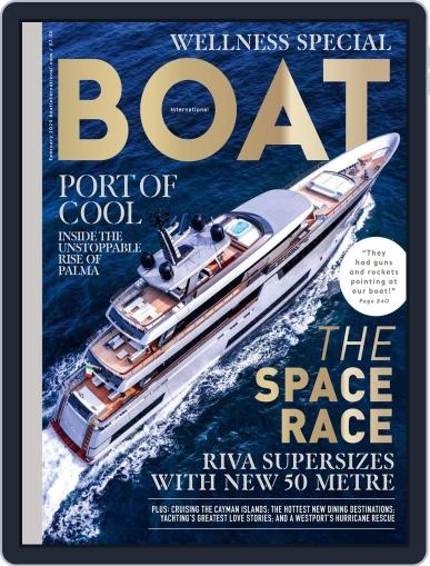 Boat International (Digital) February 1st, 2020 Issue Cover