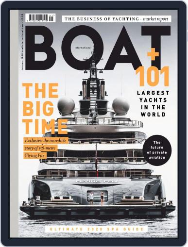 Boat International (Digital) January 1st, 2020 Issue Cover