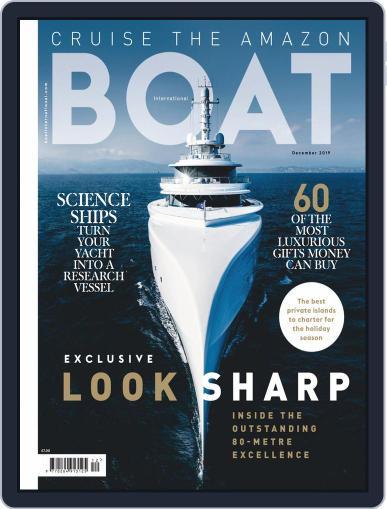 Boat International (Digital) December 1st, 2019 Issue Cover
