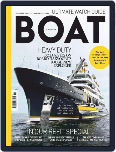 Boat International (Digital) November 1st, 2019 Issue Cover